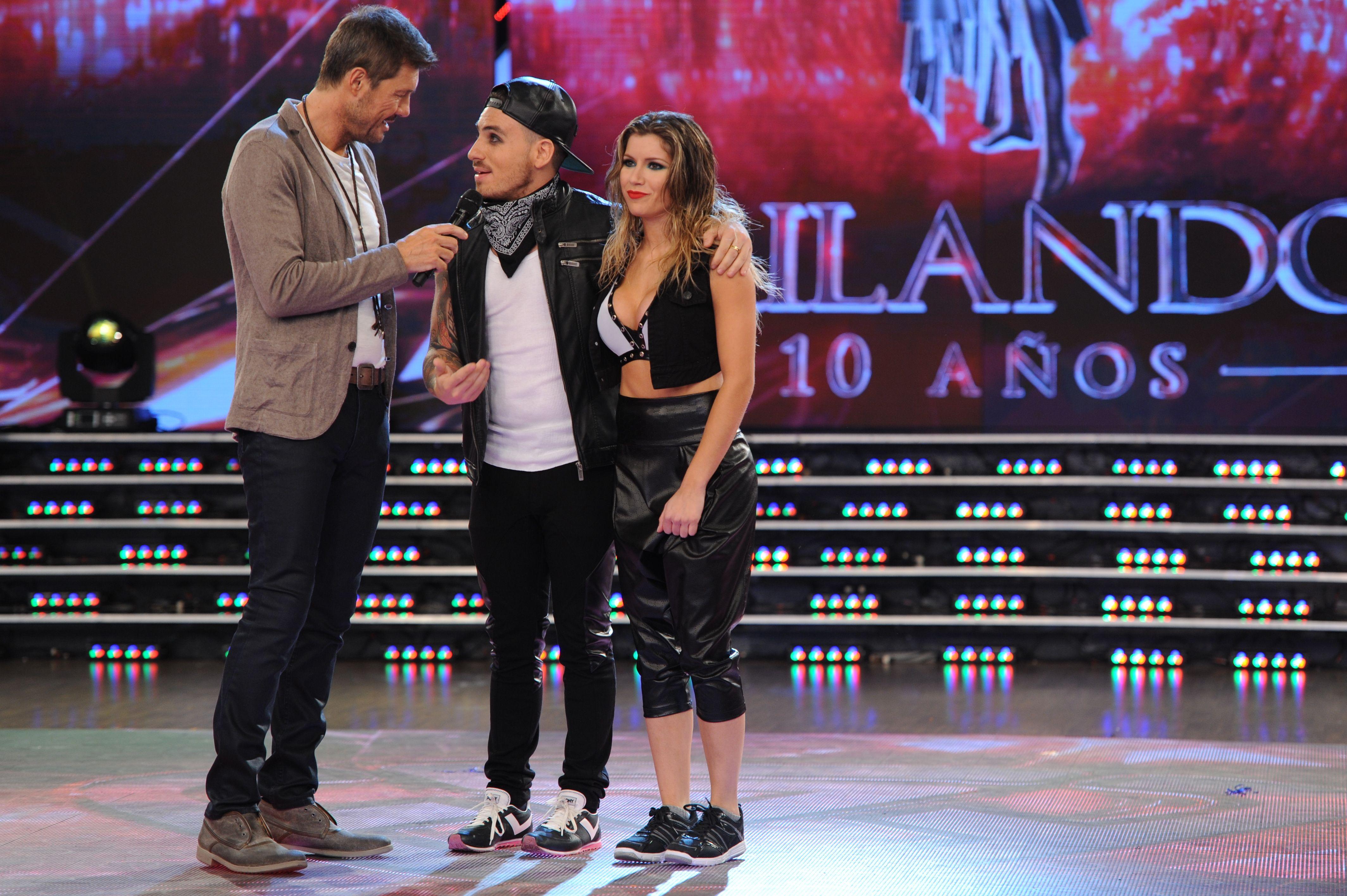 Verónica Ojeda y Fede Bal brillaron en el Street pop pero la ex de Maradona se peleó con Marcelo Polino
