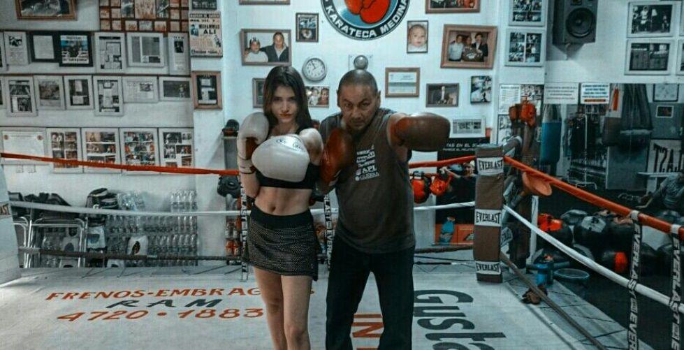 Eva De Dominici, la actriz elegida por Leo Sbaraglia para hacer de boxeadora en su nuevo film