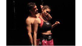 Eva De Dominici, la elegida por Sbaraglia para hacer de boxeadora en un nuevo film