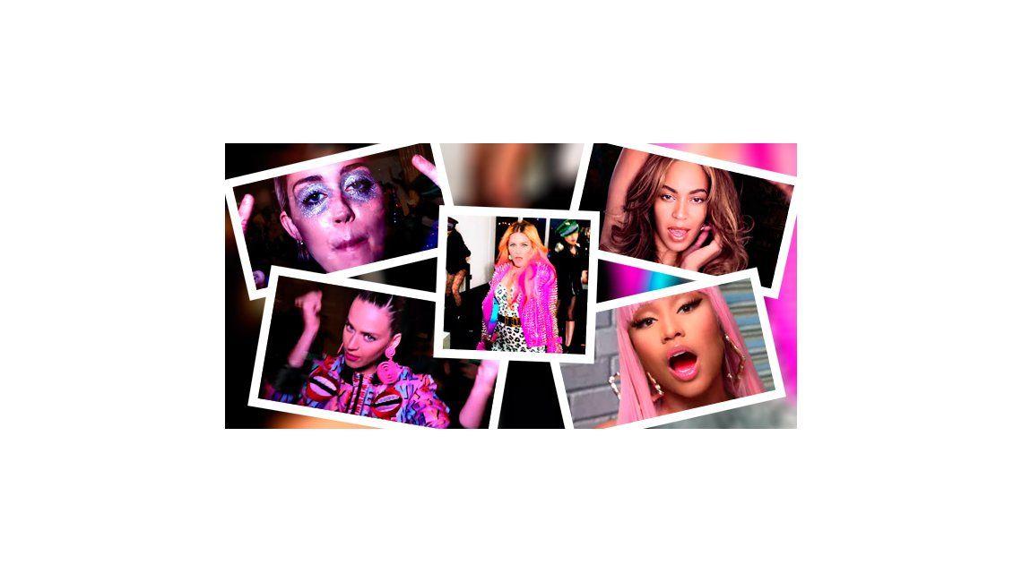Madonna lanzó su nuevo clip Bitch Im Madonna con Beyonce, Katy Perry y Miley Cyrus