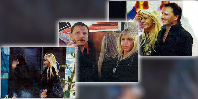 Las fotos de la ex de Carlín Calvo junto a su nuevo novio, un empresario teatral