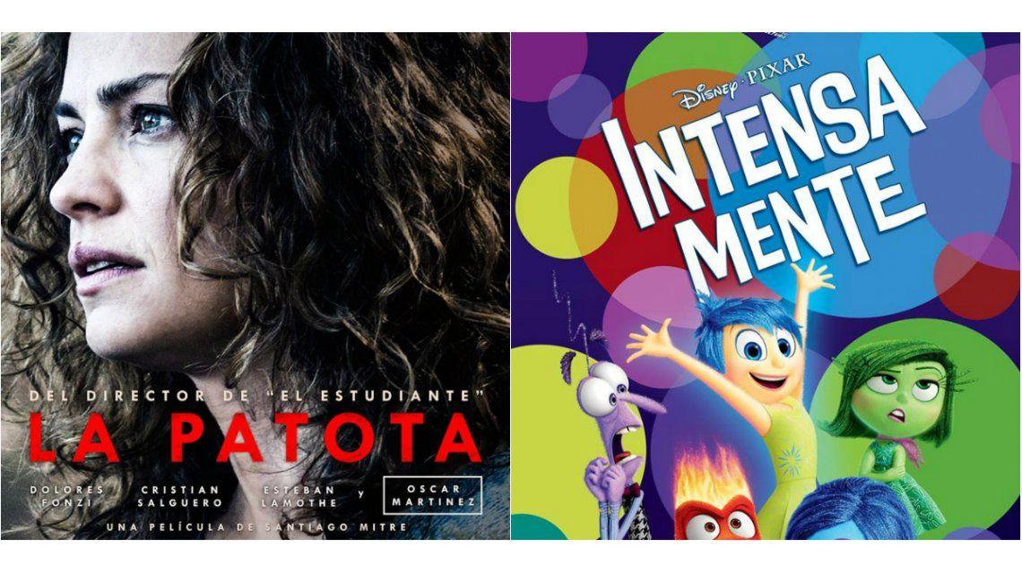 La remake de La Patota e Intensa-Mente, los estrenos de la semana