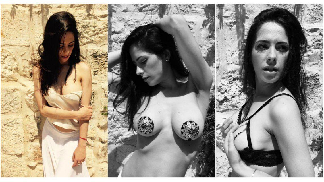 Las fotos calientes de Victoria Vannucci en Israel