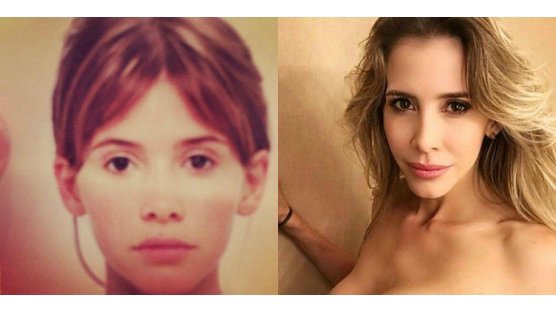 El increíble antes y después de Guillermina Valdes