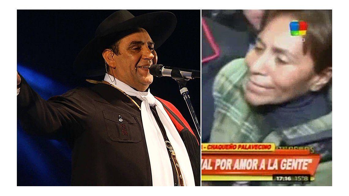 Escándalo con el Chaqueño Palavecino: una mujer lo increpó en plena conferencia