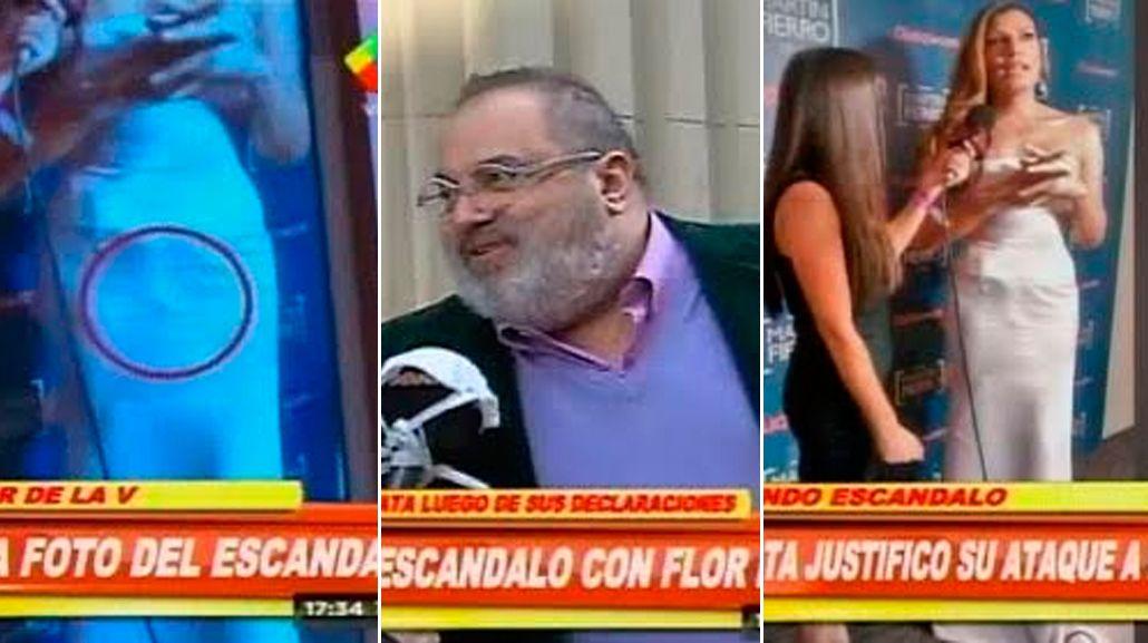 Debate por los dichos de Jorge Lanata sobre Florencia de la V: Tiene una garompa de medio metro