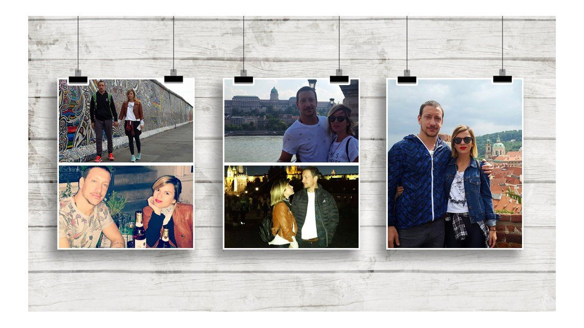 Las vacaciones de Gime Accardi y Nico Vázquez en Europa: fotos románticas y mucho glamour