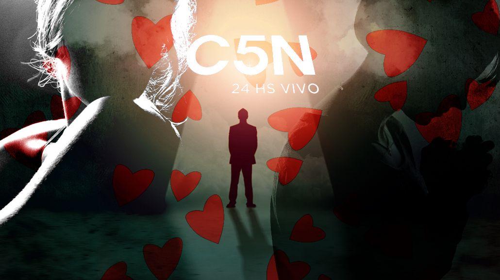 Claudio Rígoli, el conductor galán de C5N: Las mujeres me proponen de todo