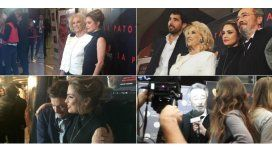 Así fue la avant premiere de La Patota: Mirtha Legrand, invitada de honor