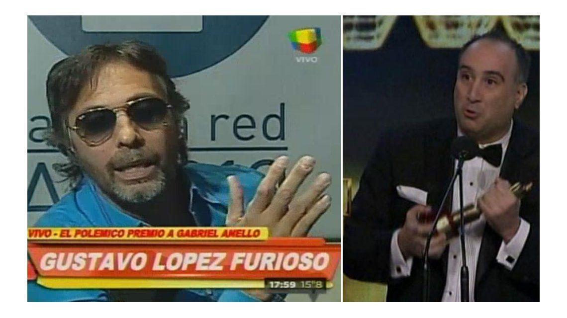 La furia de Gustavo López con Gabriel Anello por el Martín Fierro: Me molesta que mienta
