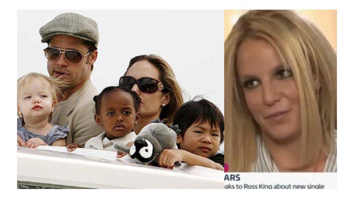 La insólita idea de Britney Spears sobre Brad Pitt y sus hijos