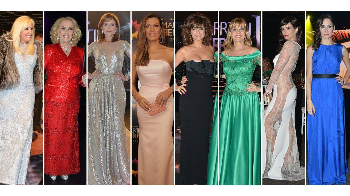 Los mejores vestidos en los Martín Fierro 2015