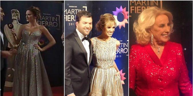 Martín Fierro 2015: Mirá el look de los famosos en la alfombra roja