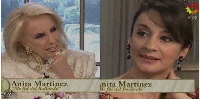 Mirtha Legrand y una pregunta incómoda a Anita Martínez: La gente dice que había celos por el Bicho y su novia