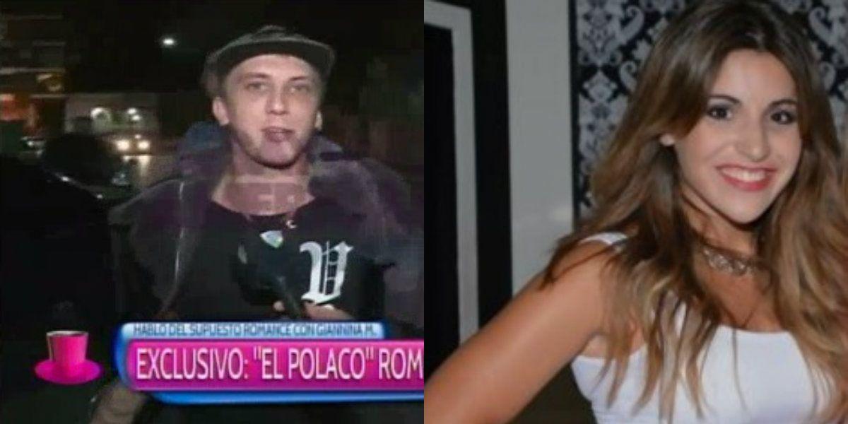 El Polaco habló sobre los rumores de romance con Gianinna Maradona: ¿Beso? Somos amigos