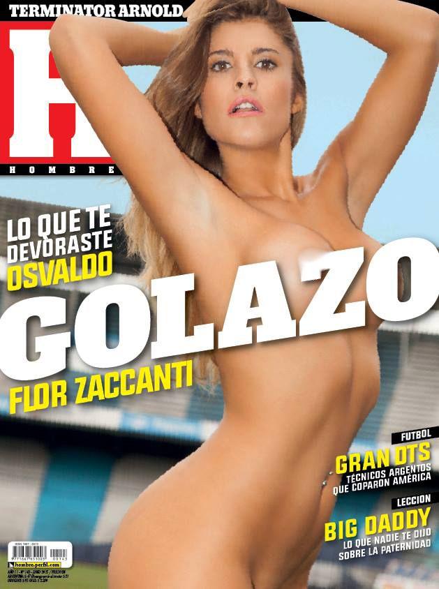 El desnudo de Florencia Zaccanti, la supuesta tercera en discordia entre Daniel Osvaldo y Jimena Barón