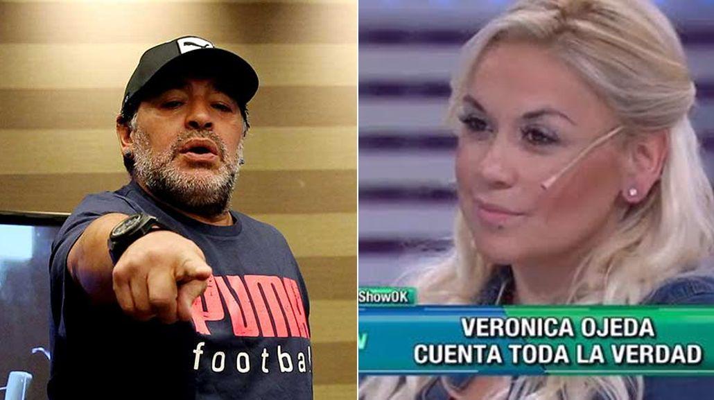 La furia de Diego Maradona con Verónica Ojeda: Me dijo que era una p... y una prostituta
