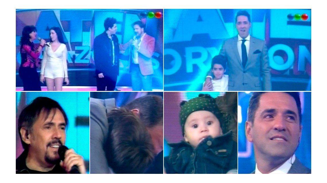 Así fue el emotivo debut de Mariano Iúdica en Telefe: los famosos cantaron con sus hijos