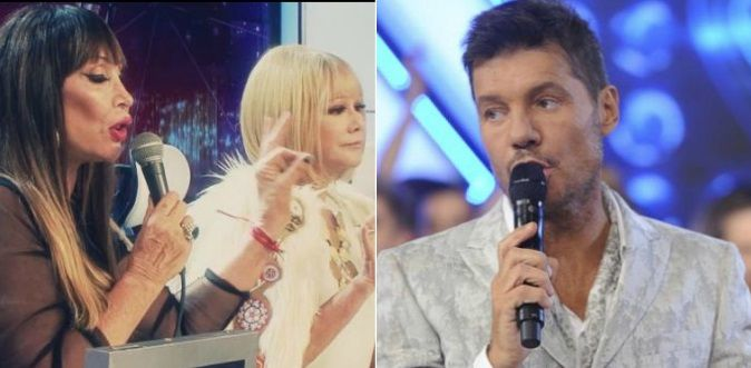 Marcelo Tinelli se metió en la feroz pelea de Moria Casán y Soledad Silveyra