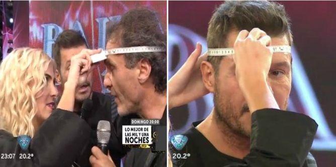 Desafío en vivo entre Marcelo Tinelli y Oscar Ruggeri: ¿Quién es más cabezón?