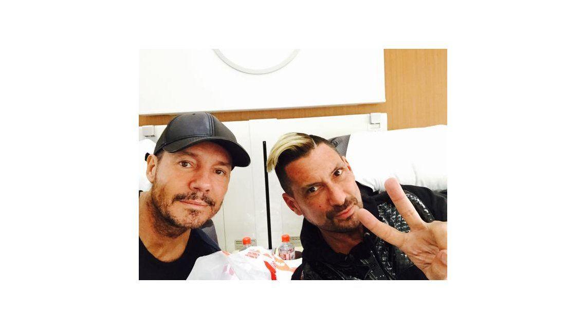 Marcelo Tinelli y su primo El Tirri, en Europa para ver la final de la Champions League