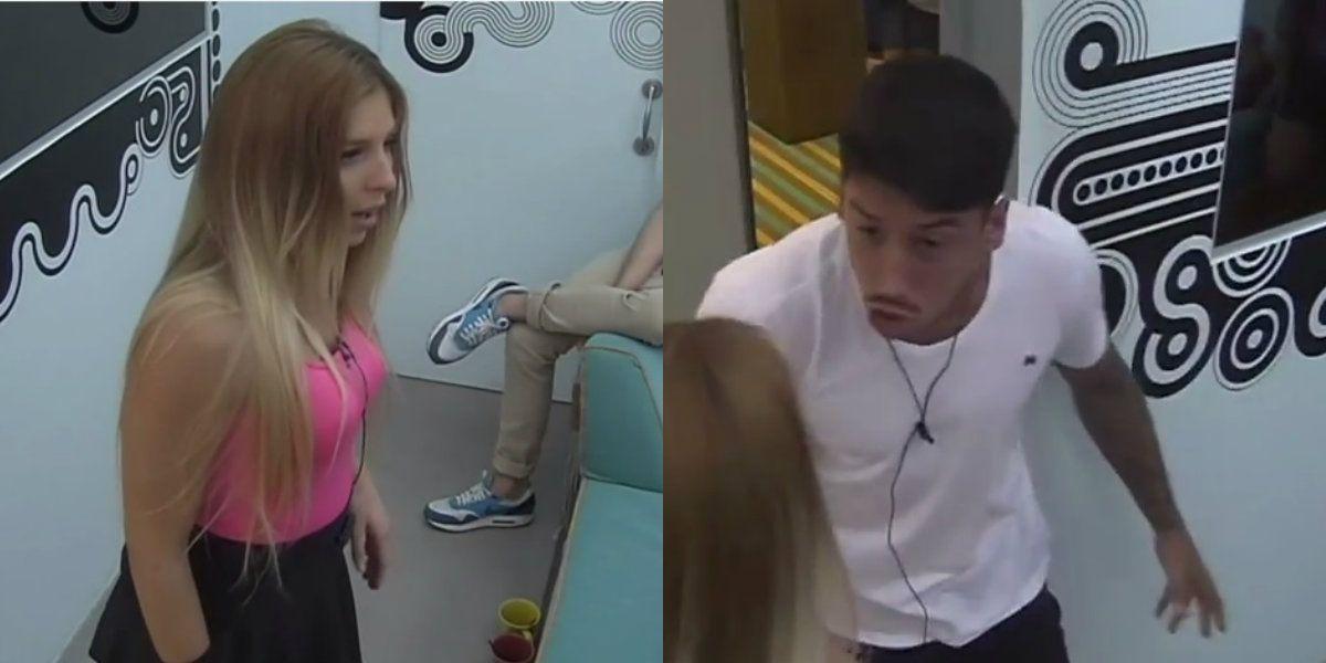 Feroz pelea entre Romina y Nicolás: gritos y arañazos en la casa de Gran Hermano