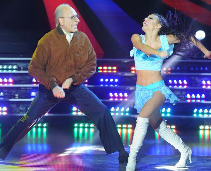 Freddy Villarreal la rompió con el falso Fernando De la Rúa bailando cumbia