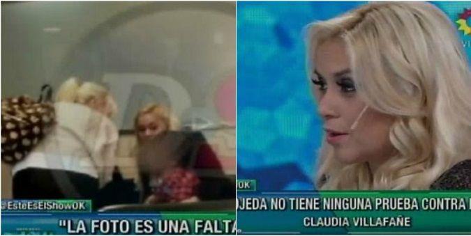 Verónica Ojeda se siente aliviada por la charla con Claudia Villafañe: Estoy contenta por la situación