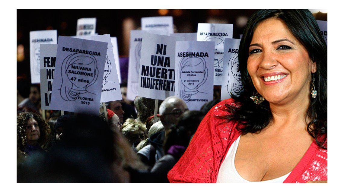 Las declaraciones de La Negra Vernaci sobre #NiUnaMenos: atacó a varios famosos que se sumaron