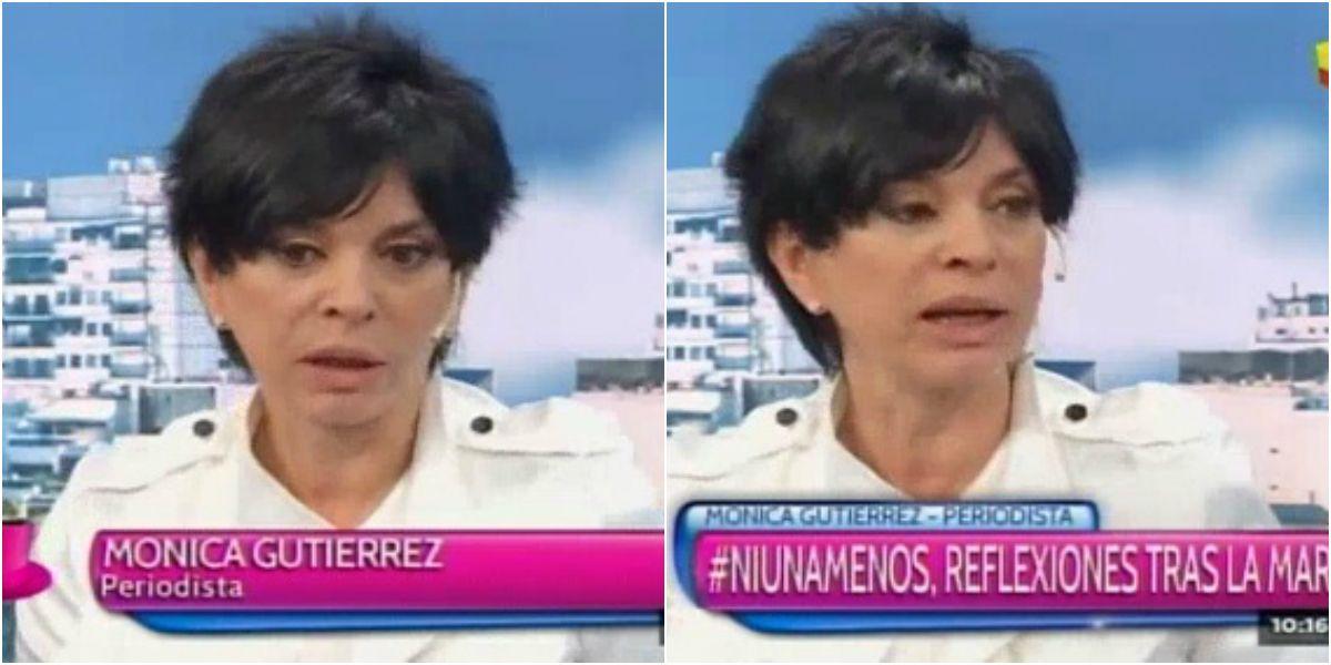 Mónica Gutiérrez y la violencia de género: Alguna vez me comí una piña