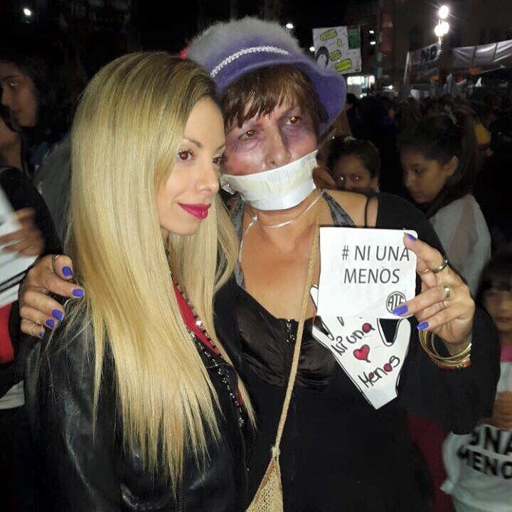 Violencia de género: Gisela Bernal, presente en la manifestación frente al Congreso