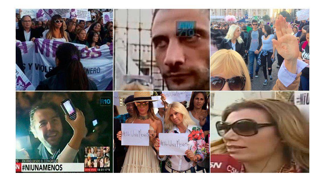 #NiUnaMenos: Moria, Flor de la V, Solita y Ergun Demir apoyan desde Buenos Aires y Karina Jelinek, desde Miami