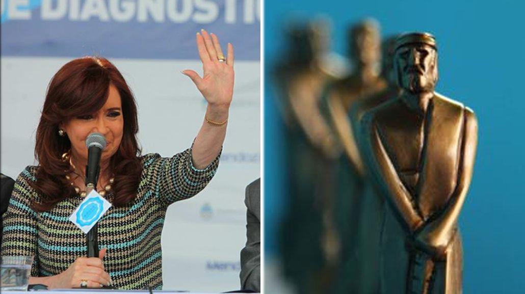 Cristina Kirchner criticó a los Martín Fierro: Todos saben cómo se otorgan algunos premios