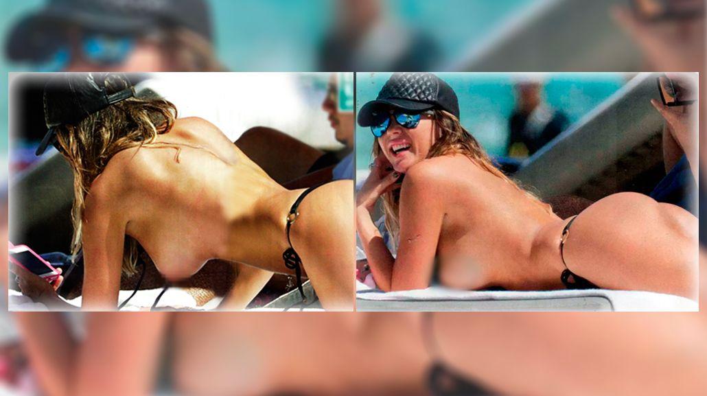 El topless más caliente de Karina Jelinek