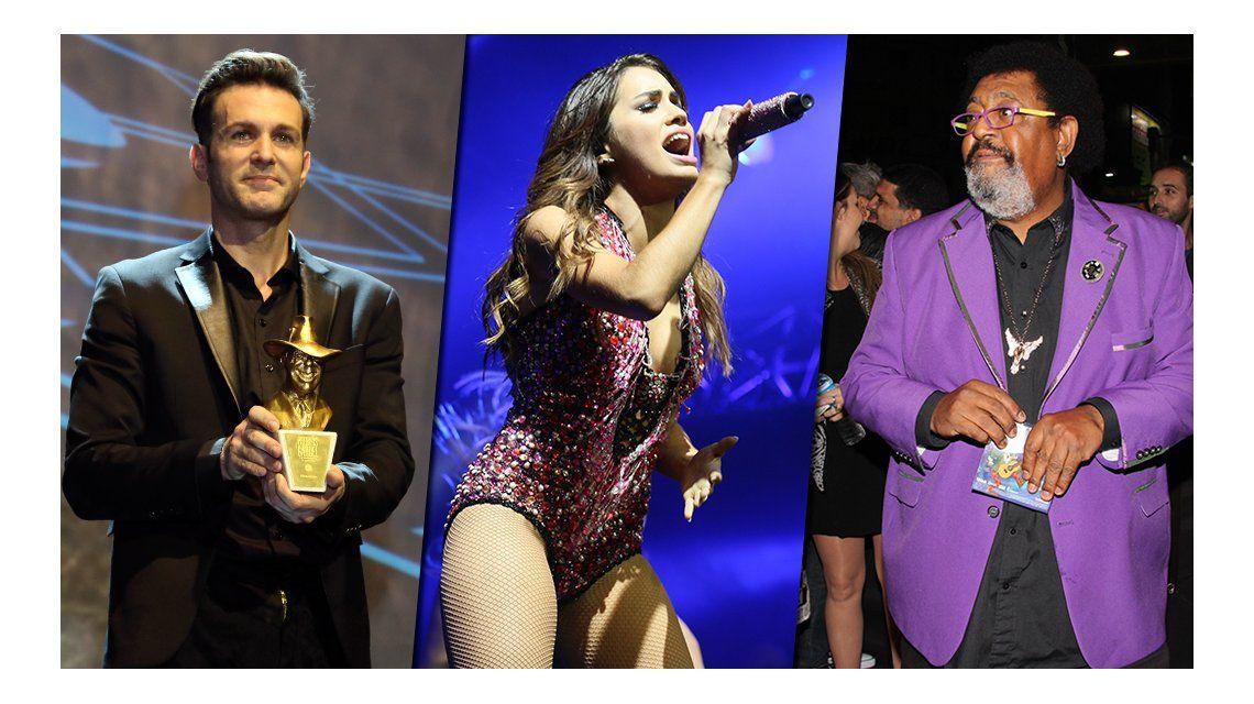 El look de los famosos en los premios Gardel 2015