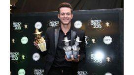 Axel fue el gran ganador de los premios Gardel 2015: se llevó el oro