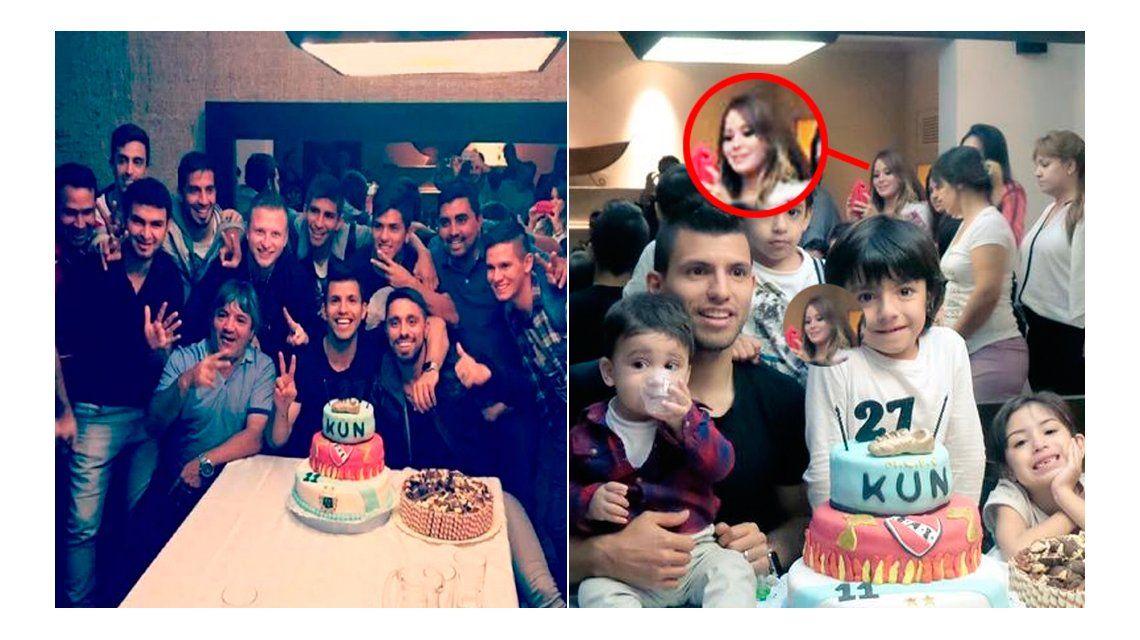 El Kun Agüero festejó su cumpleaños con familia y amigos: ¿Por qué se esconde La Princesita?