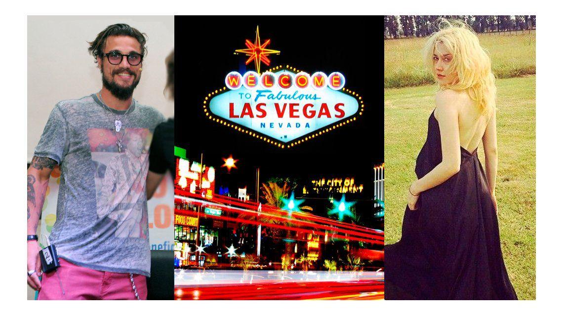 El futuro de Daniel Osvaldo y Militta Bora: casamiento en Las Vegas y viaje a China