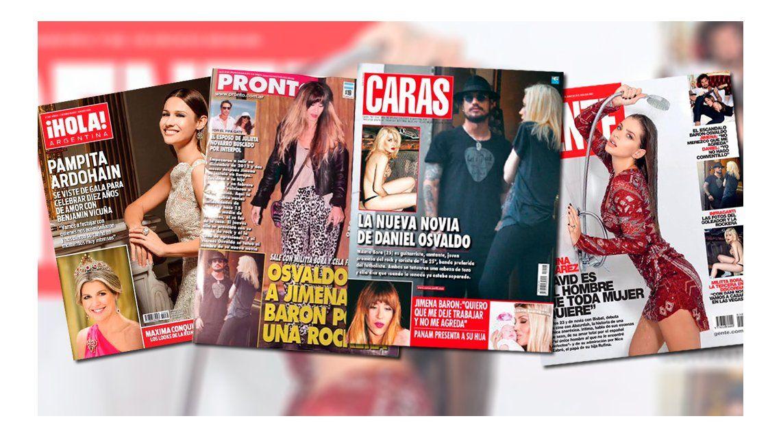 El escándalo Jimena Barón-Daniel Osvaldo y Eugenia China Suárez, más enamorada que nunca