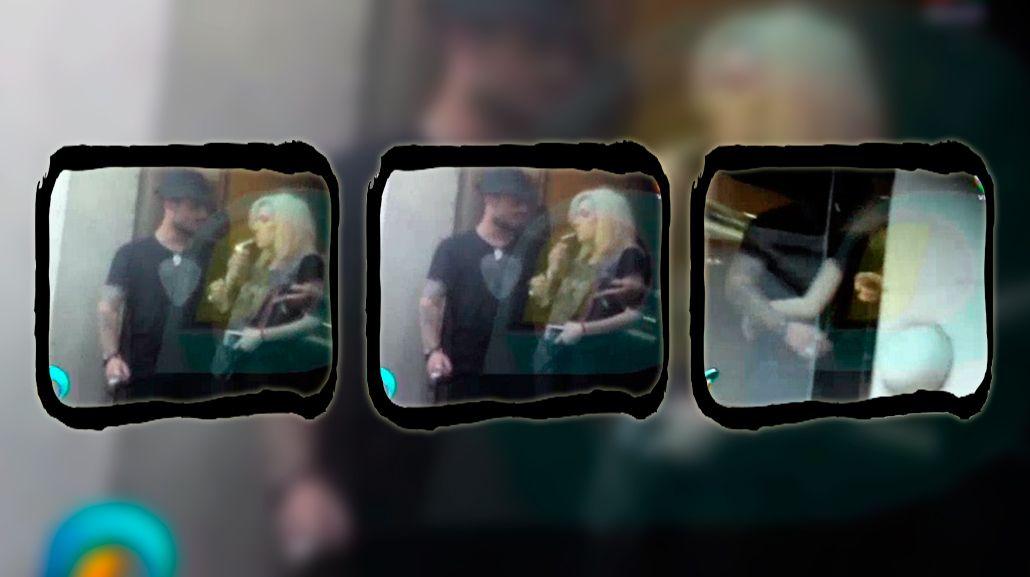 Las primeras imágenes de Daniel Osvaldo y Militta Bora juntos