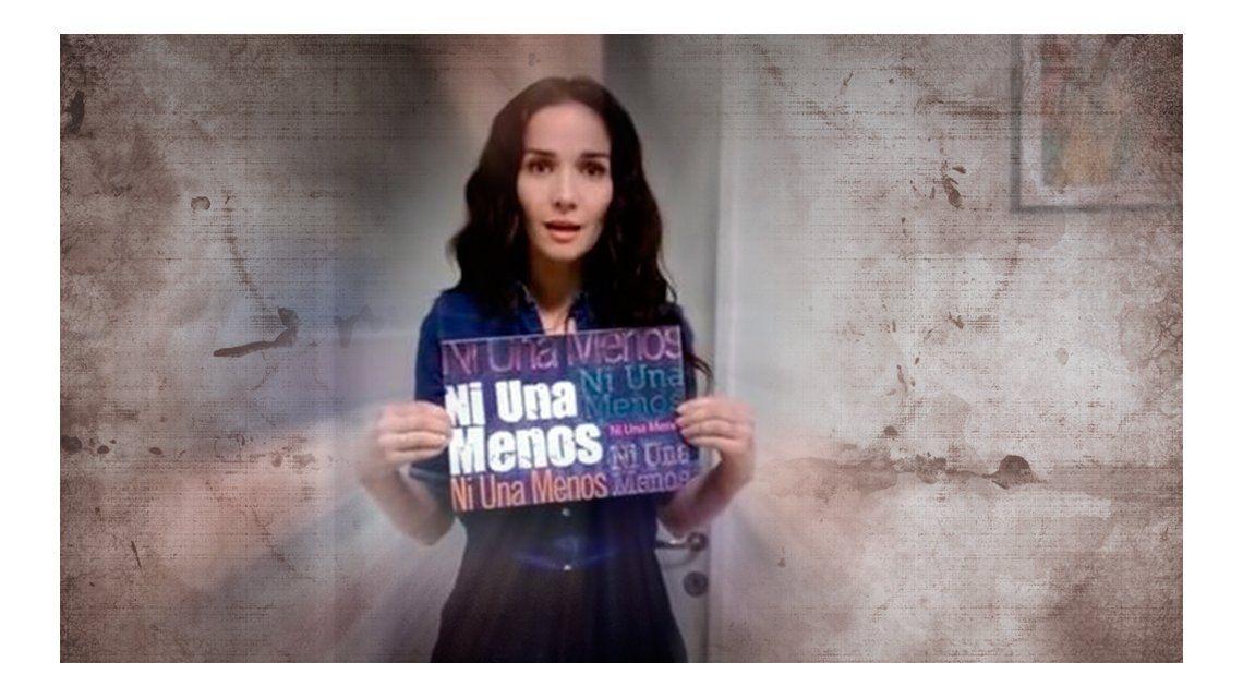 El compromiso de Natalia Oreiro: se sumó a la campaña para la marcha #NiUnaMenos