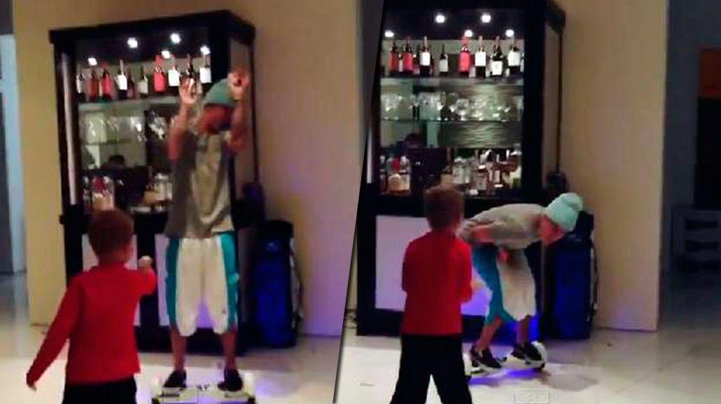 El mal momento de Justin Bieber: su hermano menor le disparó directo en...