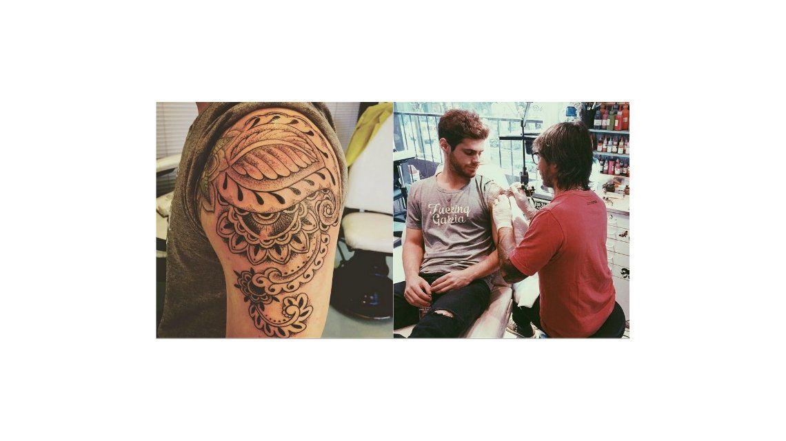 Mirá el impresionante nuevo tatuaje de Gastón Soffritti
