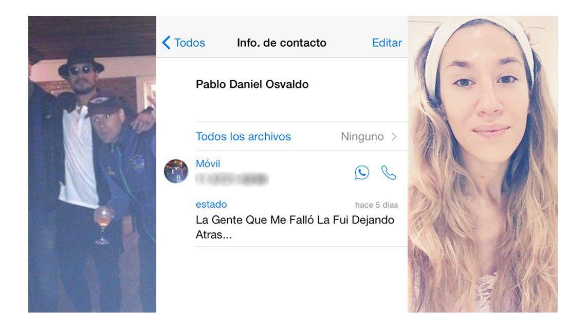 Daniel Osvaldo cambió su estado de WhatsApp: A la gente que me falló la fui dejando atrás