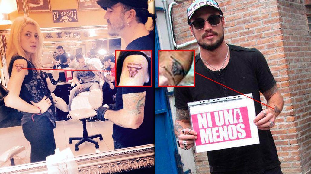 Militta Bora, la verdadera tercera en discordia entre Jimena Barón y Daniel Osvaldo: una rockera con quien se tatuó