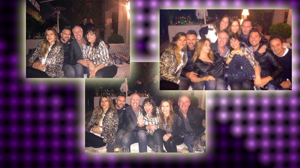 El divertido cumpleaños de Vero Lozano, rodeada de famosos: las fotos con Marley, la Negra Vernacci y Leo Montero