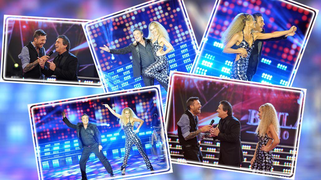 Nito Artaza y su pareja Silvina Scheffler cerraron el disco en la pista del Bailando