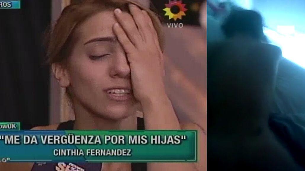 Se difundió el video prohibido de Cinthia Fernández en las redes sociales y ella denuncia: El que lo hizo es un enfermo