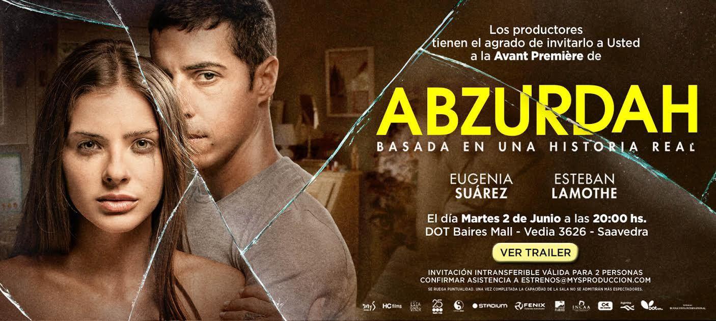 La China Suárez llega a la pantalla grande: mirá el afiche y el tráiler de Abzurdah