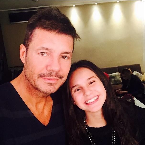 ¿Juanita Tinelli está de novia?: la reacción de Marcelo en las redes